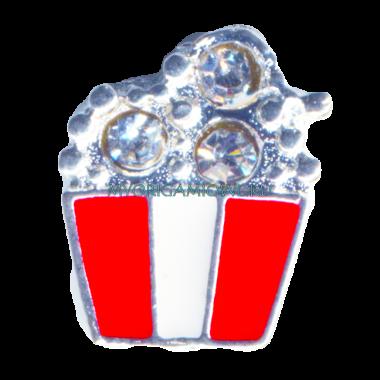 Корзина поп-корна — купить шарм для My Origami Owl