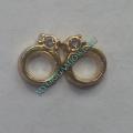 Шарм Обручальное кольцо для My origami Owl