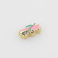 Шармы «розовый Кадиллак» Origami Owl