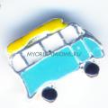 Купить шарм голубой фургон My Origami Owl
