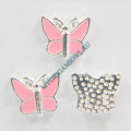 Купить шарм розовая бабочка My Origami Owl