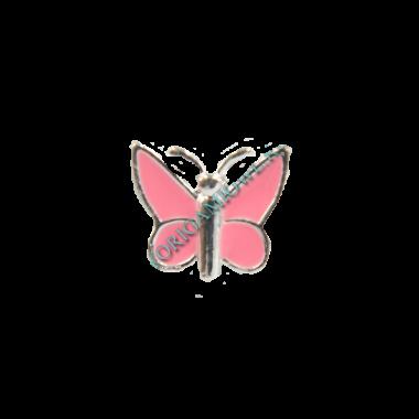 Шарм розовая бабочка