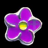 Купить шарм My Origami Owl фиолетовый цветок