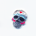 Купить шарм разукрашенный череп My origami Owl