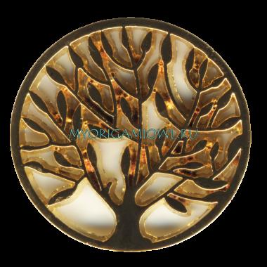 Купить тарелку золотое дерево для My origami Owl